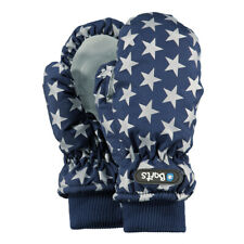 Barts Nylon Mitts Warm Gloves Children Mittens Fleece Inside Blue Stars