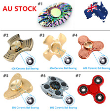 7 Type Rainbow Toy Cube Spinner Fidget Gyrocope Metal 606 Ceramic Ball Bearing