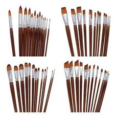 13pcs Artist Paint Brush Acrylic Watercolor Oil Painting Brushes Professional