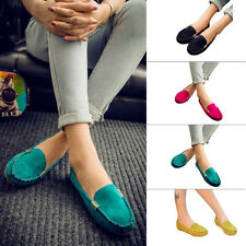 Women Casual Ballet Pumps Flat Loafers Slip On Shoes Moccasin Flat Lazy Shoes