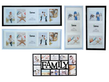 Multi Aperture Photo Picture Frames holds 12, 10, 6, 5, 3, In choice of holds