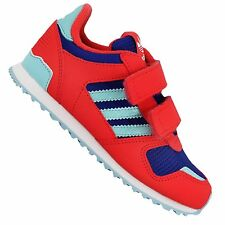 ADIDAS ORIGINALS ZX 700 CF Infant Children Baby Girls' Shoes Red Blue