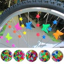 Girl Boys Cycle Bike Wheel Spoke Clip Beads Mixed Colors Children Bicycle Decors