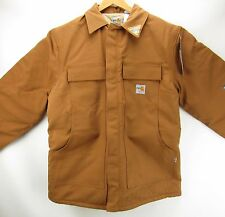 Carhartt NEW FR Flame Resistant Traditional Duck Coat Brown FRC066 LT XLT TALL