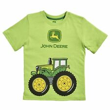John Deere Infant Boys Lime Green Big Tractor T-Shirt