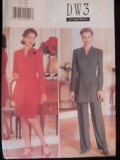 BUTTERICK 4144 Fit & Flare Top Skirt & Pants PATTERN 6-8-10/12-14-16/18-20-22 UC