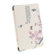 PU Leather Flip Case Cover for Amazon Kindle Paperwhite Ereader Protective