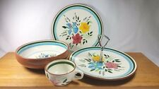 Stangl Pottery Dinnerware COUNTRY GARDEN Hand Painted Flowers Buy by Piece USA