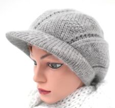 Womans Hat Cap Angora Slouch Cap Baker's Boy Cap Knitted Hats Women''s Hats