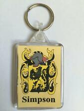 Belchier to Beloff Family Coat of Arms Crest Heraldic KEYRING Key Chain