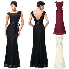 Mermaid Evening Dresses Prom Party Ball Formal Wedding Bridesmaid Long Dress New