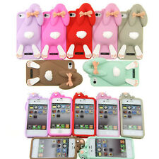 New 3D Cute Cartoon Animals Soft Silicone Case Cover Back Skin for iPhone 4 4S ′