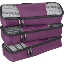 eBags Slim Packing Cubes - 3pc Set 13 Colors Travel Organizer NEW