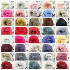 Sale New 1Ball X 50gr Soft Worsted Cotton Chunky Hand Knitting Baby Quick Yarn
