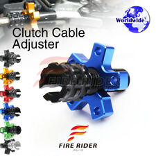FRW 6Color CNC Clutch Cable Adjuster For Kawasaki Ninja ZX-10R 04-06 04 05 06