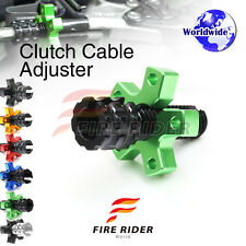 FRW 6Color CNC Clutch Cable Adjuster For Kawasaki GPz ZX 750 84-87 84 85 86 87
