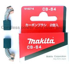 Makita CB64 Carbon Brushes for Drill Screwdriver Grinder Sander Jigsaw 191627-8