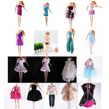 Fashion Outfit Daily Dress Coat Shirt Gown Outfit for Barbie Dolls Clothes