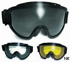 Padded Anti-Fog Ski Snowboard Goggles-Fit Over RX Prescription Glasses Fitover