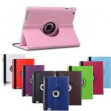 Leather 360 Rotating Smart Stand Case Leather Cover For APPLE Air2 (iPad 6)