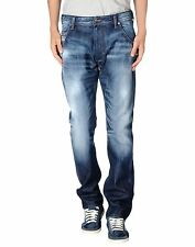 Diesel Krooley 810L Jeans 0810L Straight Leg Regular Slim Carrot Fit
