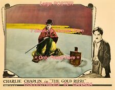 """THE GOLD RUSH 1925 Chaplin CANE Bowler Hat =POSTER CHOOSE FROM 7 SIZES 19"""" - 36"""""""