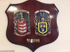 Handpainted WEDDING GIFT Family Coat of Arms PLAQUE 1,000,000 names available