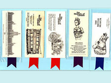 BOOKMARK British Museum of London Victoria & Albert Museum Tram Car Mayor Coach