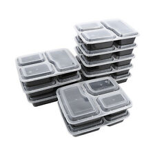 10pcs Meal Prep Box With Lid Compartment Meal Prep Containers Food Container
