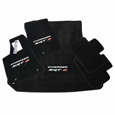 Dodge Charger SRT8 Floor Mats Set - Embroidered Logos - 32oz 2PLY USA Quality