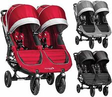 Baby Jogger CITY MINI GT DOUBLE STROLLER/BUGGY/PUSHCHAIR Baby Travel BN