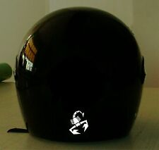 SCORPION   MOTORCYCLE HELMET REFLECTIVE DECAL.2 FOR 1 PRICE