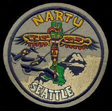 USN NARTU Naval Air Reserve Traing Unit Seattle WW2 Patch S-13