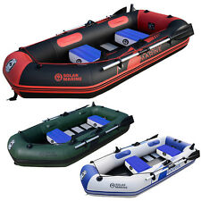 Latest Kayak Outdoor Folding Fishing Inflatable Boat 2-3 Person Canoe Foot Pump