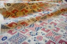 JPI*Daiamonds** Vintage Japanese Kimono Silk Fabric*patchwork,quilt,panel