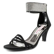 2 Lips Too Too Enlight Women  Open Toe Synthetic Black Sandals