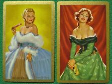 Two Famous Mistresses Madame Du Barry & Nelle Gwyn Glamour Beauties Swap Cards !