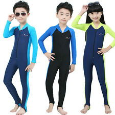 Kids Summer Piece Scuba Snorkeling Wetsuit Rash Guard Surfing Surf Clothing