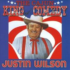 JUSTIN WILSON - THE CAJUN KING OF COMEDY NEW CD