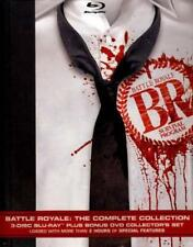 BATTLE ROYALE: THE COMPLETE COLLECTION NEW BLU-RAY/DVD