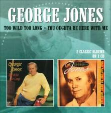 GEORGE JONES - TOO WILD TOO LONG/YOU OUGHTA BE HERE WITH ME NEW CD