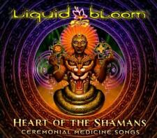 LIQUID BLOOM - HEART OF THE SHAMANS: CEREMONIAL MEDICINE SONGS [DIGIPAK] NEW CD