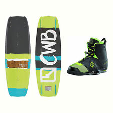 CWB Faction Wakeboard With Faction Bindings 2017