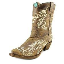 Corral A3193 Women  Square Toe Leather Brown Western Boot