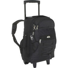 Everest Wheeled Backpack with Bungee Cord 10 Colors Rolling Backpack NEW