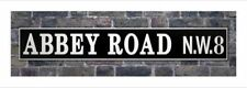 New Abbey Road N.W.8 Street Sign Famous Recording Studio Street Sign Print