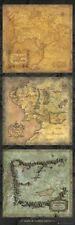 New Lord of the Rings Maps Of Middle Earth Door Poster