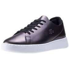 Lacoste Eyyla 317 Womens Black Leather Casual Trainers Lace-up Genuine Shoes