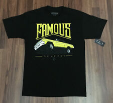 FAMOUS Stars and Straps Juiced T shirt Still famous graphic men's tee New!!
