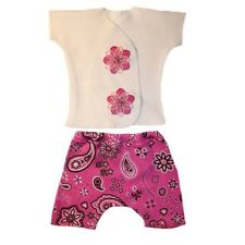 Baby Girl Bandana Rama Shirt Shorts Clothes Outfit - 4 Preemie and Newborn Sizes